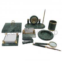 Набор мраморный зеленый 9пр.Fair Wind Rimini 11089-9/901110
