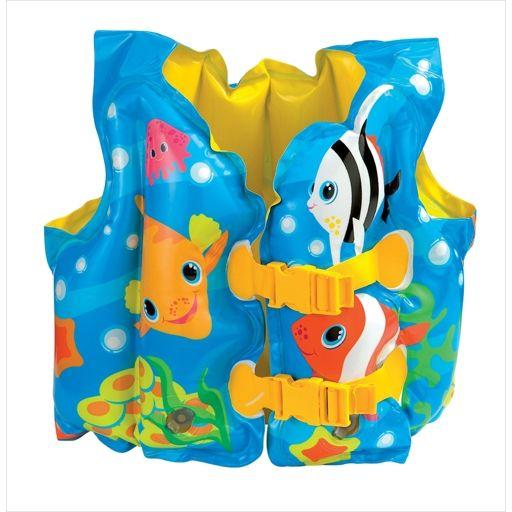 Intex Жилет надувной детский Рыбки 59661