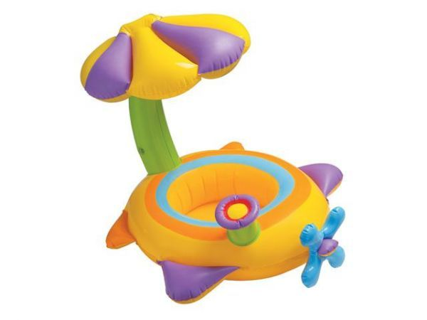 Intex Круг для плавания с сидением Цветок 56580