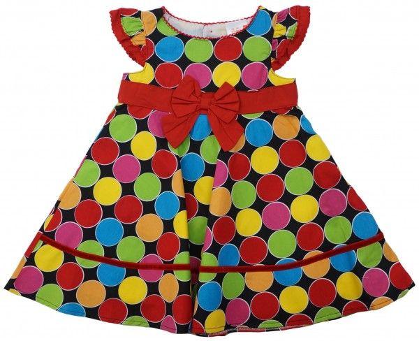 Платье и трусики-шорты для девочек Шарики