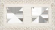 San Sebastian Provence Рамка 2-ная, White Decape