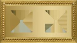 Sevilla Рамка 2-ная, Bright Gold