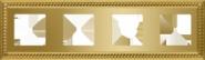 Sevilla Рамка 4-ная, Bright Gold