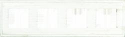 Madrid Provence Рамка 4-ная, White Decape