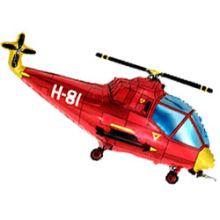 """Фигура """"Вертолет"""" красный, 39""""/ 99 см"""