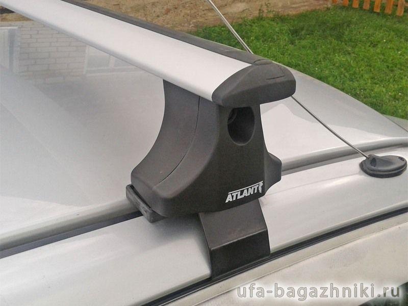 Багажник на крышу на Toyota Avensis, Атлант, крыловидные аэродуги