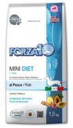 Forza10 Mini Diet Корм для взрослых собак мелких пород из океанической рыбы (1,5 кг)