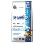Forza10 Medium Diet al Pesce Диетический полнорационный корм для взрослых собак средних пород (1,5 кг)