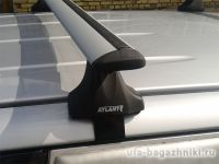 Багажник на крышу Toyota Hilux, Атлант, крыловидные дуги