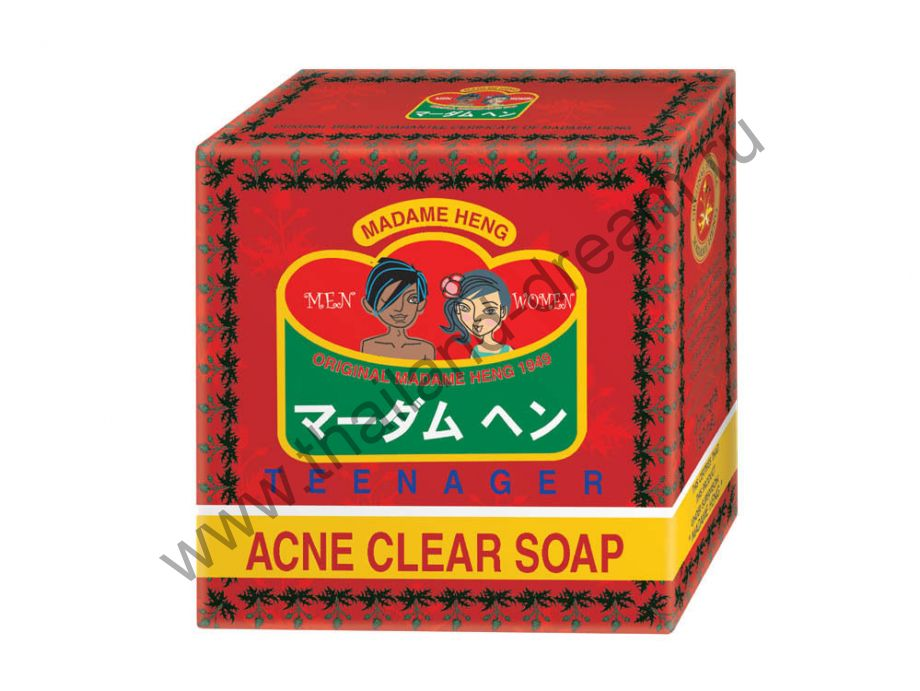 МЫЛО ОТ АКНЕ ACNE CLEAR SOAP MADAME HENG 150ГР
