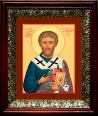 Стахий, апостол (19х22), темный киот