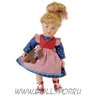 """Коллекционная кукла Кэти Крузе - Кати """"Дитя Фортуны""""  - Käthe Kruse Gluсkskind Kati"""
