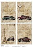 Декупажные карты Men & Vintage 3  30 гр/м2