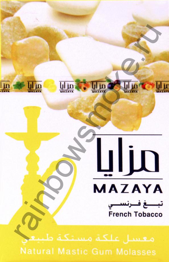Mazaya 50 гр - Mastic Gum (Жвачка с Мастикой)