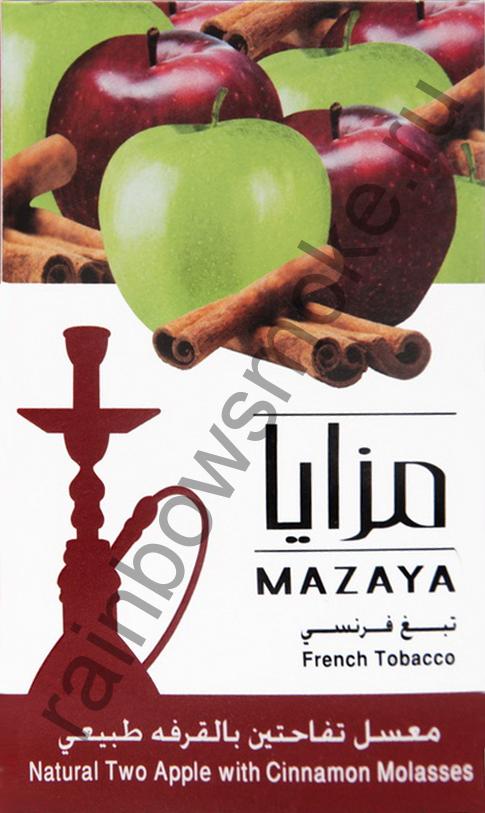 Mazaya 50 гр - Two Apple with Cinnamon (Двойное Яблоко с Корицей)
