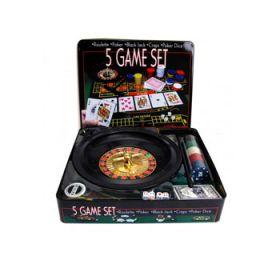 Покерный набор (5 в 1)