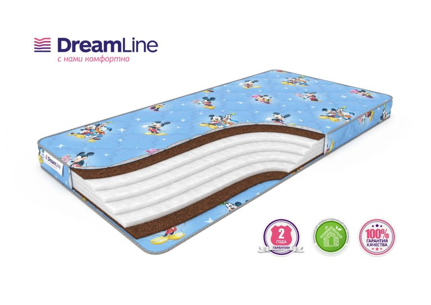 Детский матрас Baby Holl Hard | DreamLine
