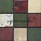 Rust-45(9). Мозаика 96x96x10, серия RUSTICO,  размер, мм: 300*300 (GAUDI, Испания)