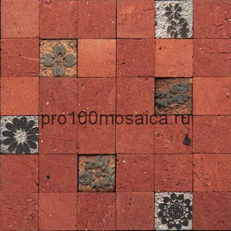 Tera-1(4). Мозаика 45x45x10, серия TERRACOTA,  размер, мм: 270*270 (GAUDI)