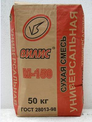 """Универсальная смесь """"Вилис"""" М-150 (40; 50 кг)"""