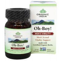 Ох-Бой препарат для мужчин Органик Индия / Organic India Oh-Boy! Capsules