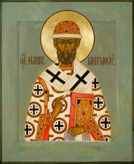 Филипп Московский (рукописная икона)