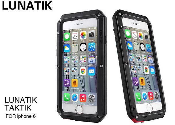 lunatik taktik extreme для  iphone 7/8 (черный)