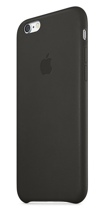 APPLE LEATHER CASE ДЛЯ IPHONE 6/6s black