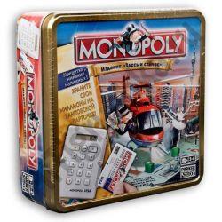 Монополия с банковскими картами (металлическая коробка)