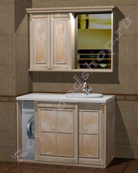 """Комплект для ванной """"Челси-2 КОМБИ-L береза""""                      Внимание: узнать цену за выбранный Вами состав можно в свитке """"КОМПЛЕКТАЦИЯ"""""""