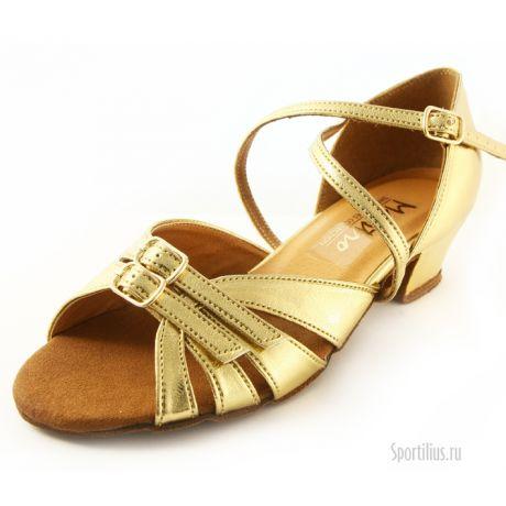 Золотые туфли для бальных танцев
