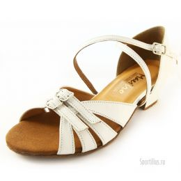 Туфли для бальных танцев, белые