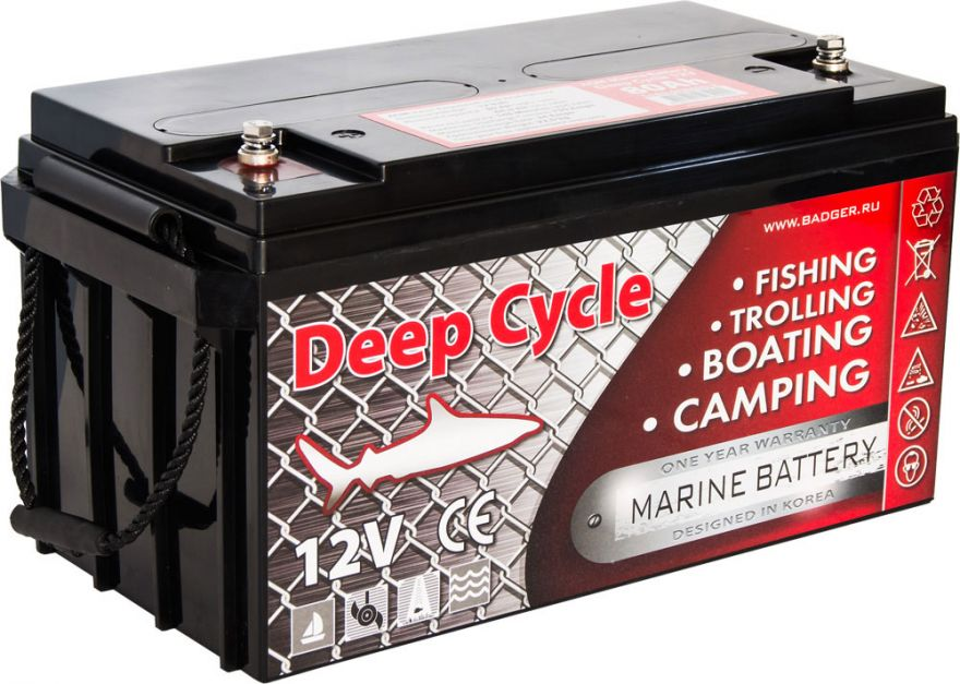 Аккумулятор Marine Deep Cycle AGM 90Ah 12V