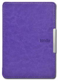 Обложка для Amazon Kindle Paperwhite с клипсой и ремнем (фиолетовый)