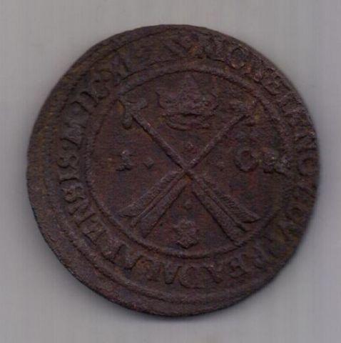 1 оре (эре) 1649 г. редкий год. Швеция