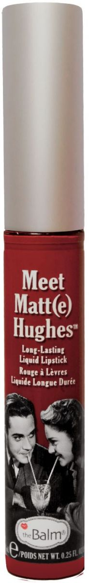 Матовая помада theBalm - Loyal Meet Matt(e) Hughes