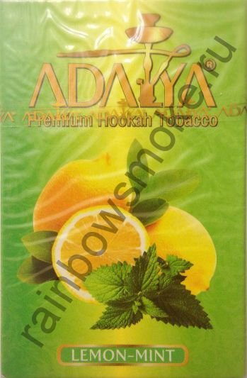 Adalya 50 гр - Lemon-Mint (Лимон и Мята)