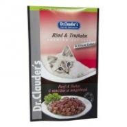 Dr. Clauder's Beef&Turkey - Мясные кусочки с мясом и индейкой в желе (100 г)
