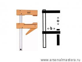 Струбцина деревянная Piher Be HKL40, 400 х 110 мм М00003717