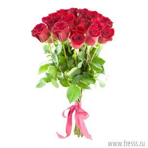 "Букет роз ""Пламенное сердце"""