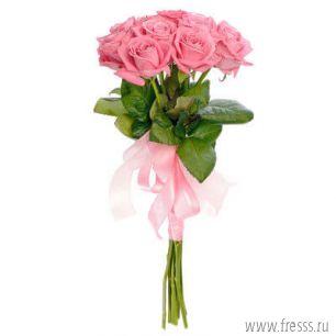 "Букет роз ""Розовый шарм"""