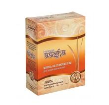 Маска для укрепления волос и против перхоти на основе индийской хны Ааша Хербалс (AASHA Herbals), 80г