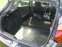Коврик (поддон) в багажник, Unideс, полиуретановый черный с бортиками, на Хэтч