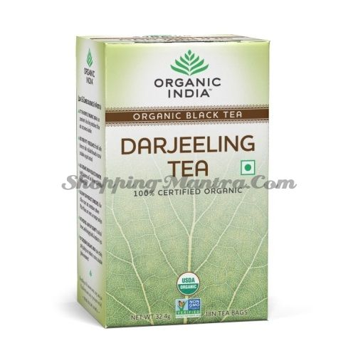 Чай Дарджилинг 100% органический в пакетиках Органик Индия / Organic India Darjeeling Tea Bags