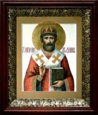 Филипп Московский (19х22), темный киот