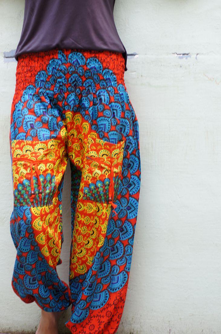 Шаровары с рисунком Мандала (отправка из Индии)