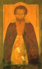 Дионисий Глушицкий (копия иконы 17 века)