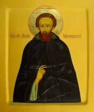 Михей Радонежский (рукописная икона)