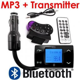 FM-МОДУЛЯТОР + BLUETOOTH HANDSFREE И MP3 ПЛЕЕР
