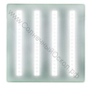 Светодиодный светильник для подвесных потолков Армстронг Exmork Люкс «Микропризма» 220В